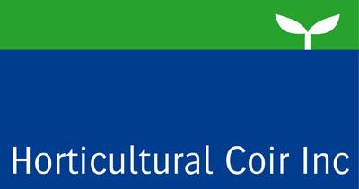 horticultural coir footer logo